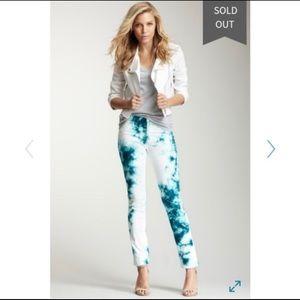 Hudson Size 30 Waist Tie Die Jeans NWOT Tilda